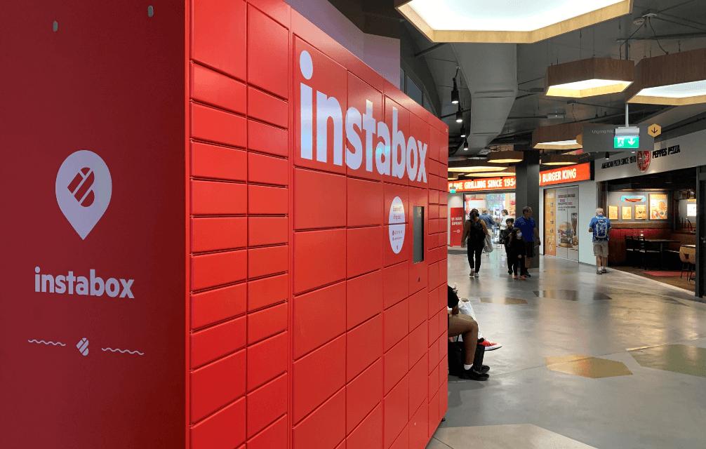 Instabox på Lillestrøm Torv