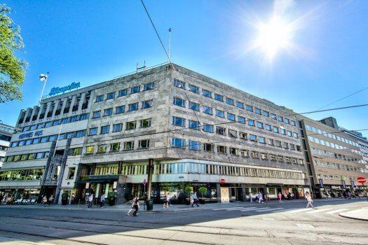 Stortingsgaten, En kjent bygård i Oslo sentrum
