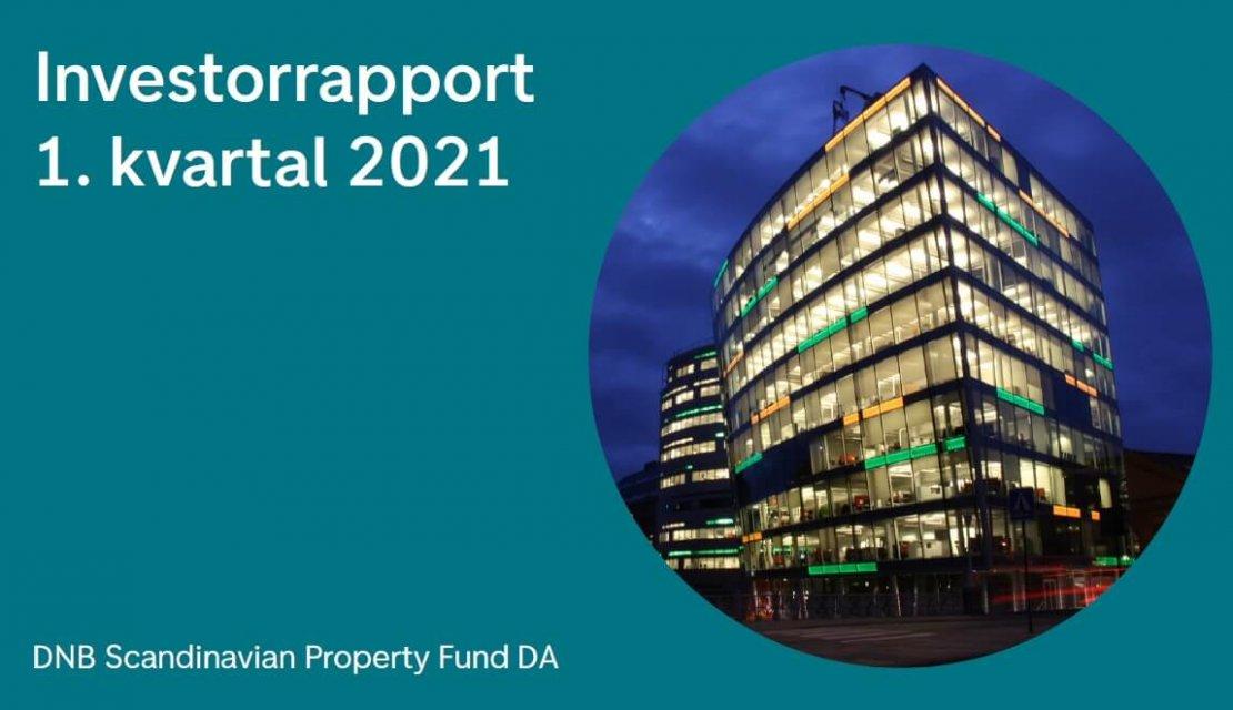 DNB Scandinavian Property Fund leverer sterke resultater også i 1.kvartal