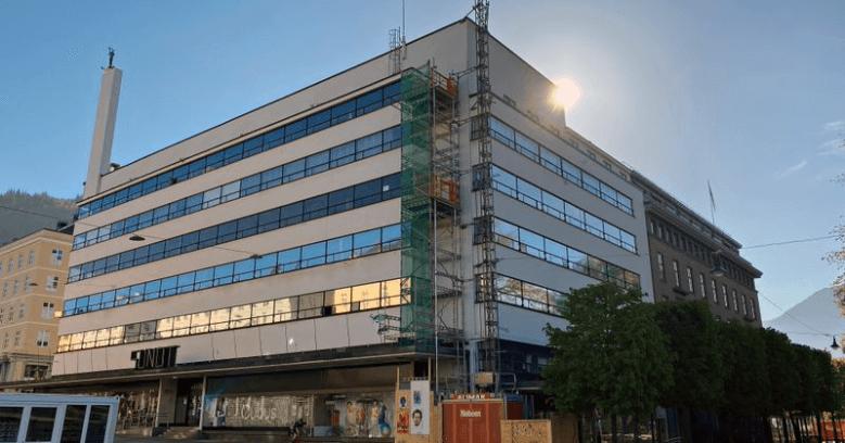 Sundt bygget i Bergen sentrum