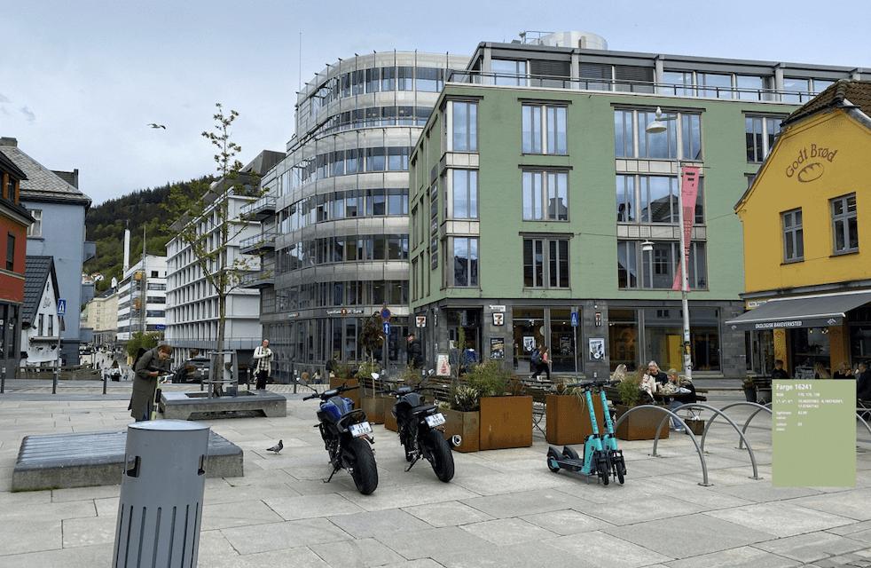 Miljøtiltak løfter sertifikatkarakteren for Krinkelkroken 1 i Bergen